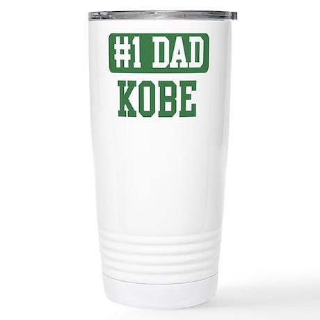 Number 1 Dad - Kobe Stainless Steel Travel Mug
