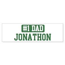 Number 1 Dad - Jonathon Bumper Bumper Sticker