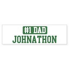 Number 1 Dad - Johnathon Bumper Bumper Sticker