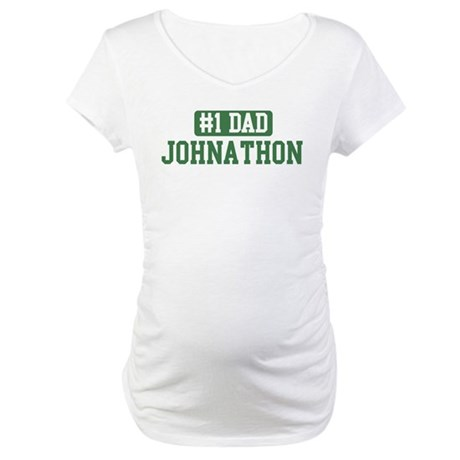 Number 1 Dad - Johnathon Maternity T-Shirt
