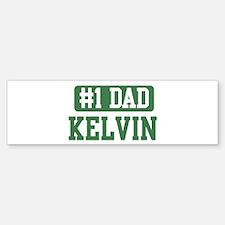 Number 1 Dad - Kelvin Bumper Bumper Bumper Sticker