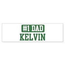 Number 1 Dad - Kelvin Bumper Bumper Sticker