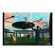 Saucer Landing 7 AM X-Day Postcard (8)