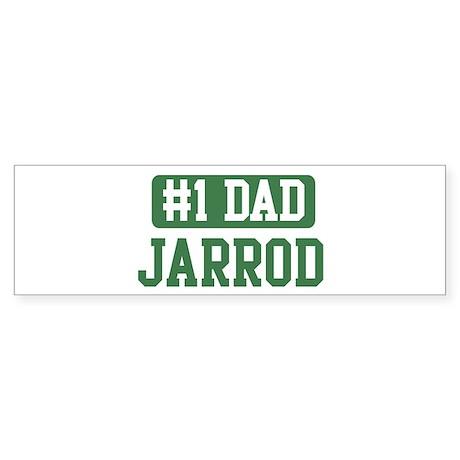 Number 1 Dad - Jarrod Bumper Sticker