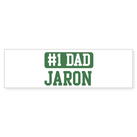 Number 1 Dad - Jaron Bumper Sticker