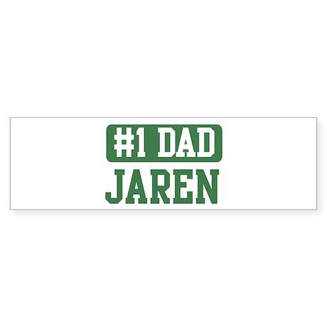 Number 1 Dad - Jaren Bumper Sticker