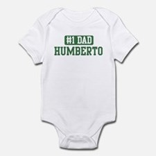 Number 1 Dad - Humberto Infant Bodysuit