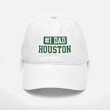 Number 1 Dad - Houston Baseball Baseball Cap