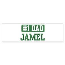 Number 1 Dad - Jamel Bumper Bumper Sticker