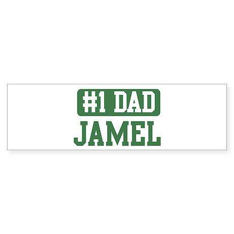 Number 1 Dad - Jamel Bumper Sticker