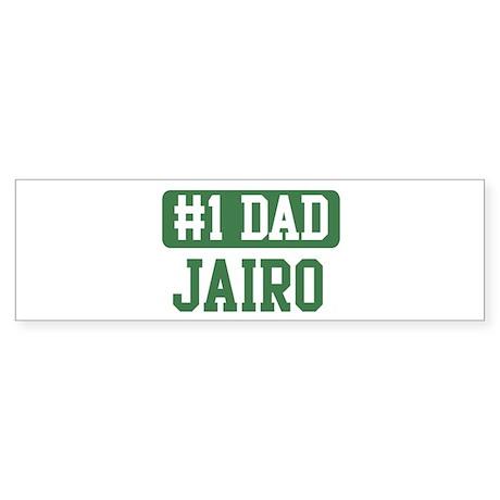 Number 1 Dad - Jairo Bumper Sticker