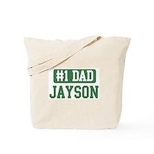 Number 1 Dad - Jayson Tote Bag