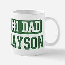 Number 1 Dad - Jayson Mug
