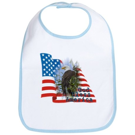 Flag, Eagle - Bib
