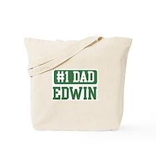 Number 1 Dad - Edwin Tote Bag