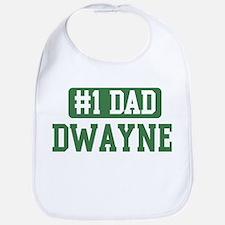 Number 1 Dad - Dwayne Bib