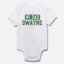 Number 1 Dad - Dwayne Infant Bodysuit