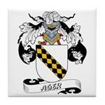 Ager Coat of Arms Tile Coaster
