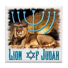 Lion of Judah 3 Tile Coaster