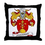 Agramunt Coat of Arms Throw Pillow