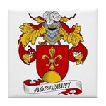 Agramunt Coat of Arms Tile Coaster