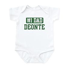 Number 1 Dad - Deonte Infant Bodysuit