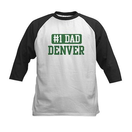 Number 1 Dad - Denver Kids Baseball Jersey