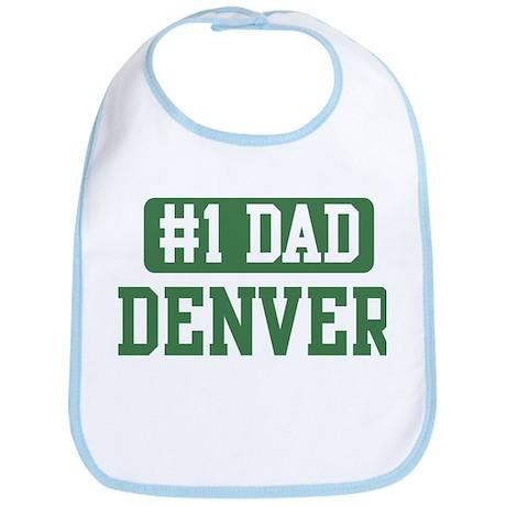 Number 1 Dad - Denver Bib