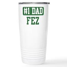 Number 1 Dad - Fez Travel Mug