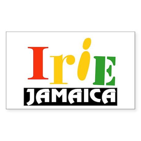 Jamaica Irie Sticker