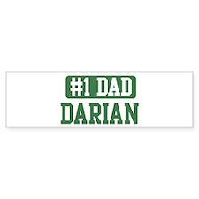 Number 1 Dad - Darian Bumper Bumper Sticker