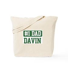 Number 1 Dad - Davin Tote Bag