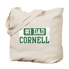 Number 1 Dad - Cornell Tote Bag