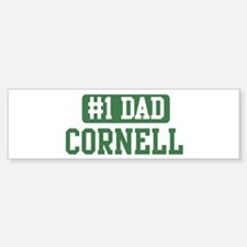 Number 1 Dad - Cornell Bumper Bumper Bumper Sticker