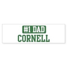 Number 1 Dad - Cornell Bumper Bumper Sticker