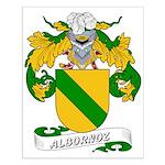 Albornoz Coat of Arms Small Poster