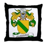 Albornoz Coat of Arms Throw Pillow