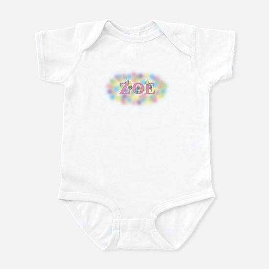 """Zoe"" with Mice Infant Bodysuit"