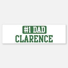 Number 1 Dad - Clarence Bumper Bumper Bumper Sticker