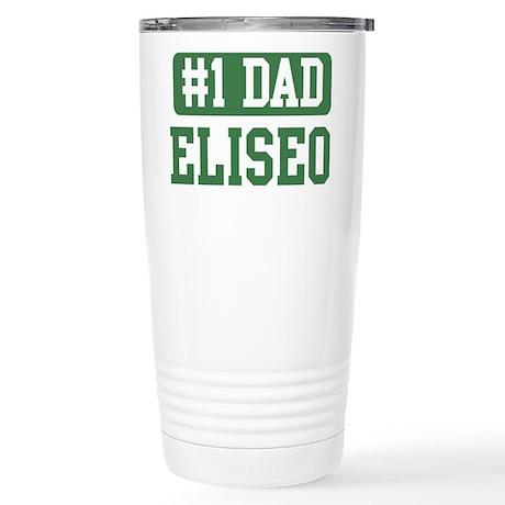 Number 1 Dad - Eliseo Stainless Steel Travel Mug