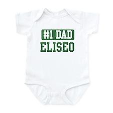 Number 1 Dad - Eliseo Infant Bodysuit
