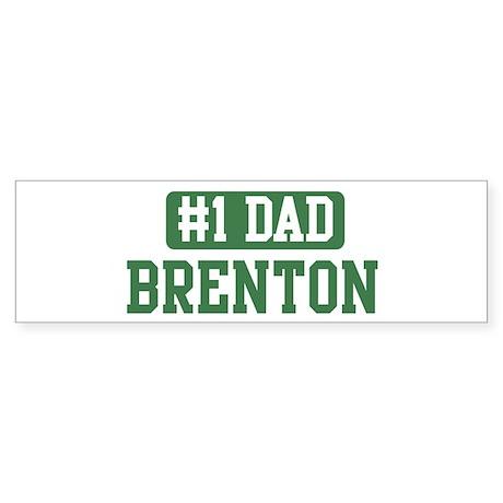 Number 1 Dad - Brenton Bumper Sticker