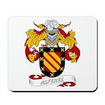 Alferez Coat of Arms Mousepad