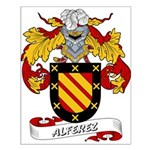 Alferez Coat of Arms Small Poster