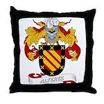 Alferez Coat of Arms Throw Pillow