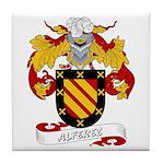 Alferez Coat of Arms Tile Coaster