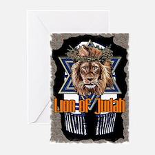 Lion of Judah 2 Greeting Cards (Pk of 10)