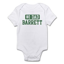 Number 1 Dad - Barrett Infant Bodysuit