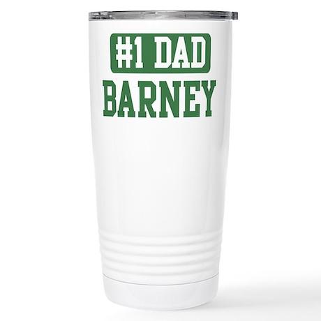 Number 1 Dad - Barney Stainless Steel Travel Mug
