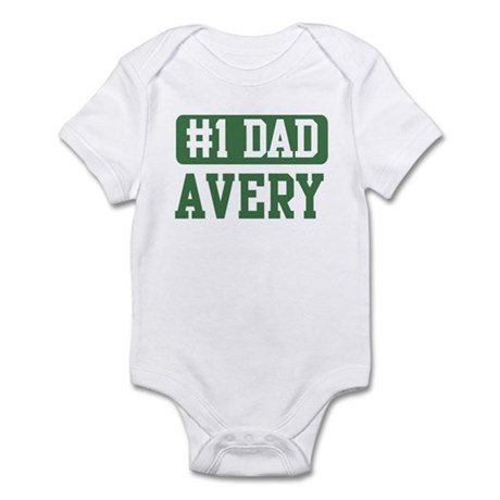 Number 1 Dad - Avery Infant Bodysuit